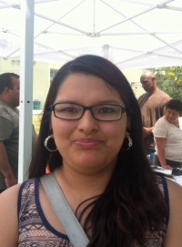Elizabeth Martinez, Elected Youth Rep on the Central Alameda Neighbourhood Council